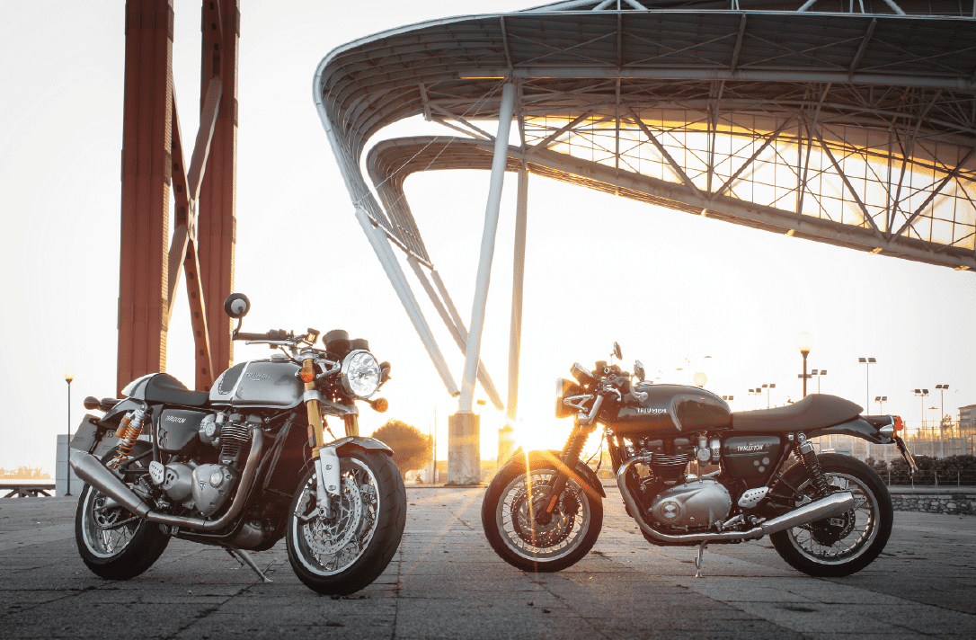 Thruxton and Thruxton R