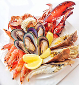 Seafood showcase