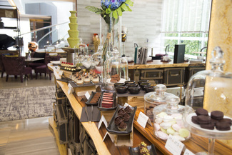 High tea buffet at Mondo